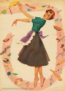 Ballarina Housewife